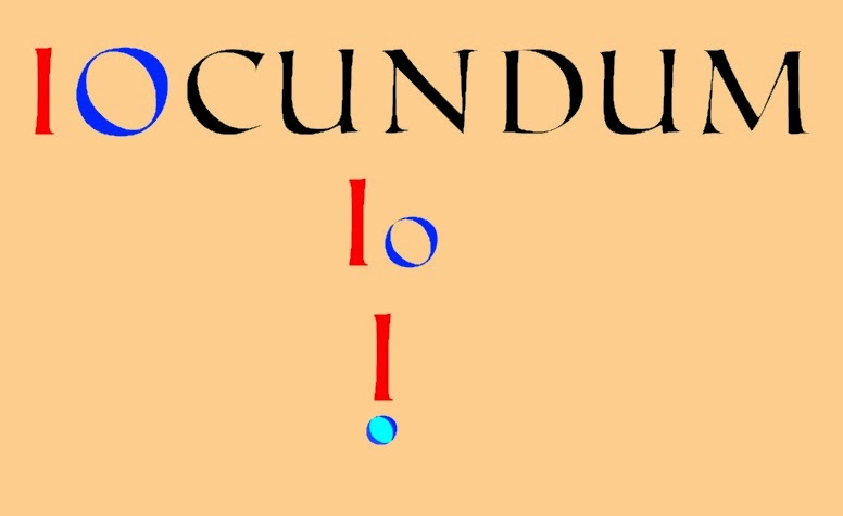 The Latin word iocundum and the exclamation mark
