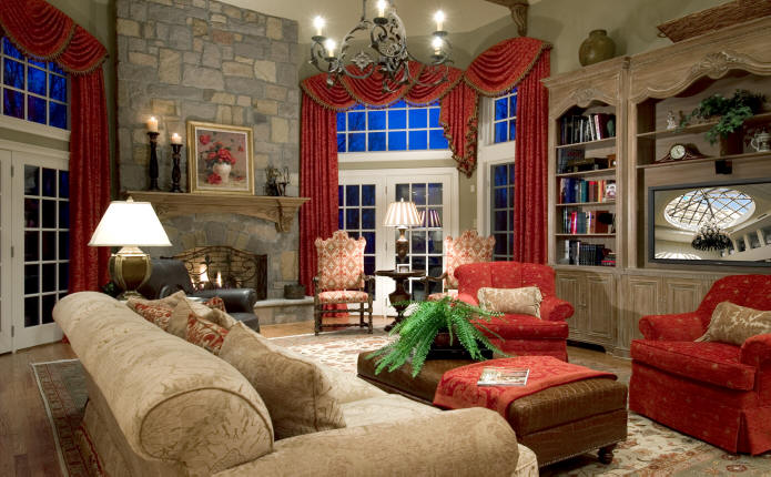 Rustic Living Room Decorating Ideas
