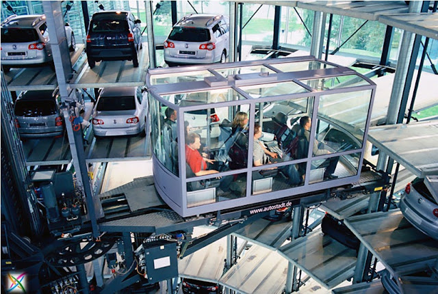 World largest car parking in Germany architecture Garage Images buildings infrastructure strange