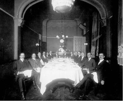 Gentlemen dining at Tutwiler Hotel from the Birmingham Public Library Digital Collections