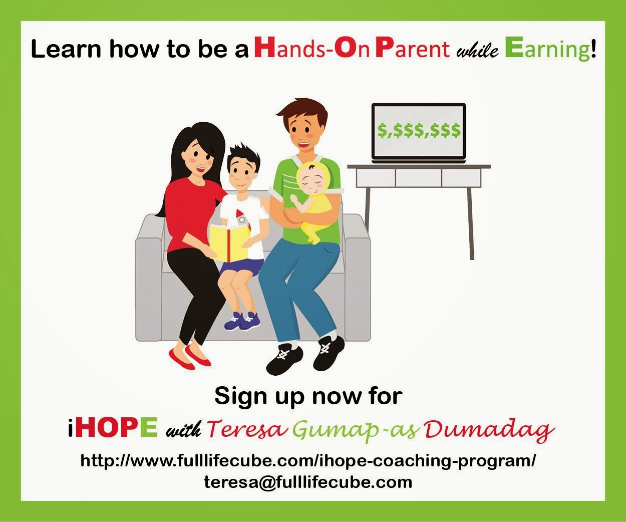 Join The Hands-on Parent while Earning Network