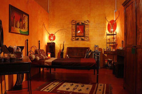 Habitaciones tnicas ideas para decorar dormitorios - Camera da letto stile etnico ...
