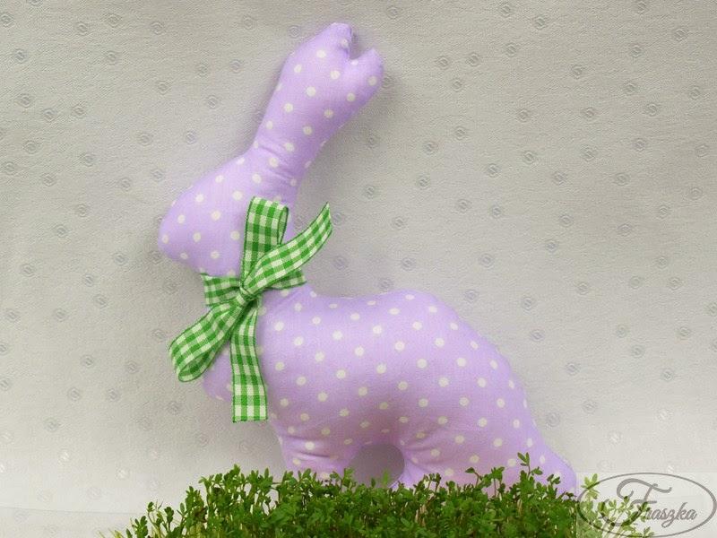 Ręcznie robiony królik wielkanocny