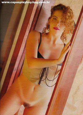 Gisele Fraga nua na Playboy