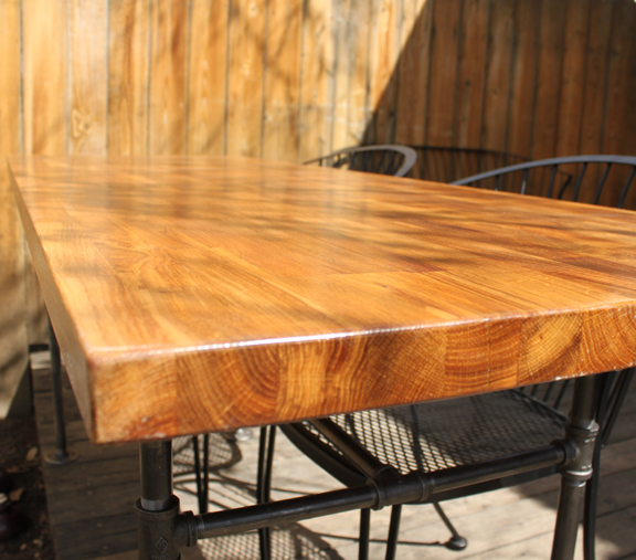 Our Homegrown Spud: A Couple Of DIY OSB Tables