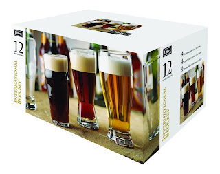 Libbey Beer 12 Piece Set International