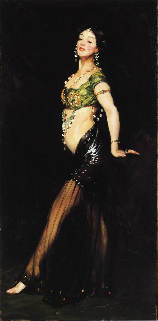 salome robert henri painting