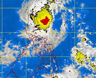 Bagyong VINTA Update - Intensified into a Typhoon by PAGASA