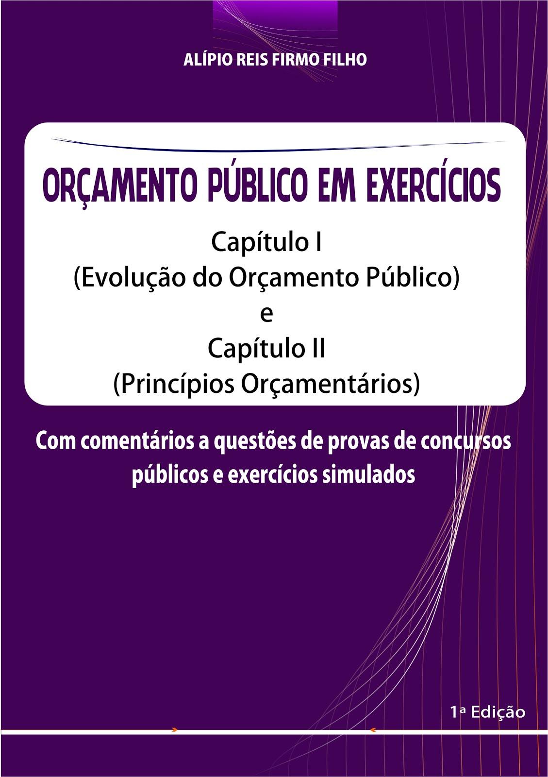 ORÇAMENTO PÚBLICO EM EXERCÍCIOS