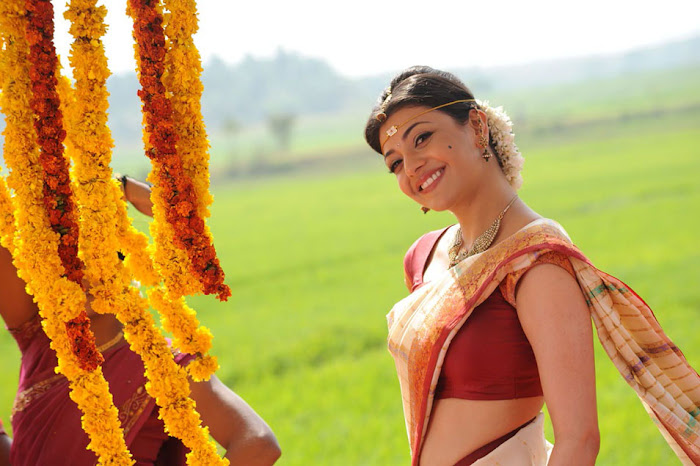 kajal agarwal saree from mrperfect movie photo gallery