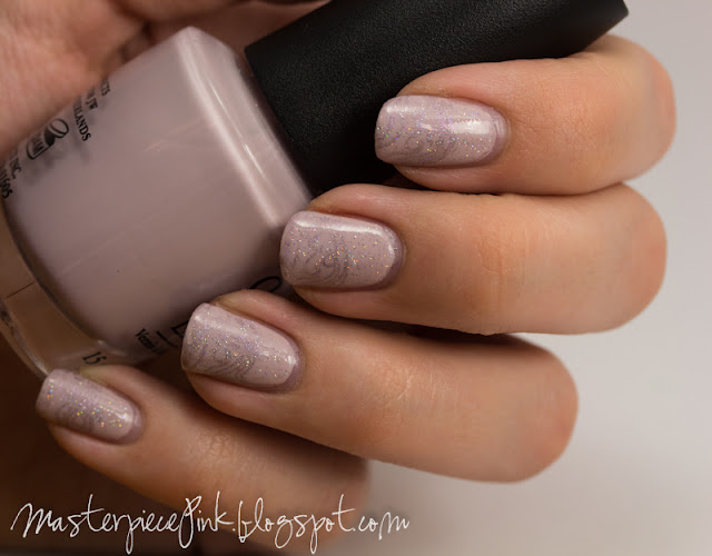 OPI - Steady As She Rose, A-England - Princess Tears, China Glaze - Fairy Dust