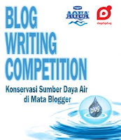 Konservasi Sumber Daya Air Di mata Blogger