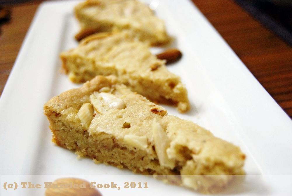 Chocolate Almond Shortbread Cookie Recipe