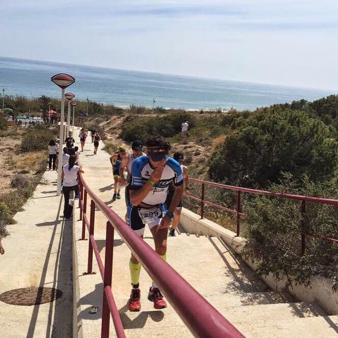 triatlon elche arenales 113 alicante escaleras