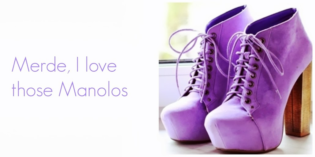 Merde, I love those Manolos