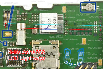 All Gsm Solution: Nokia Asha 303 LCD Light Solution Ways