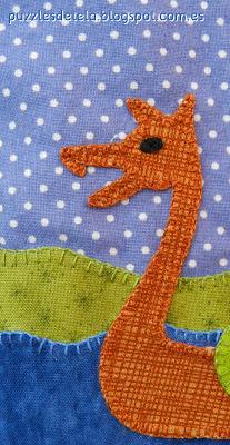 Bolsa de merienda, mochila, barco vikingo, patchwork, hecho a mano, handmade, puzzles de tela, mitología nórdica, Vikingos, barco vikingo, Vikings, drakkar, dragón, Vuelta al cole, regalos para niños, bags,
