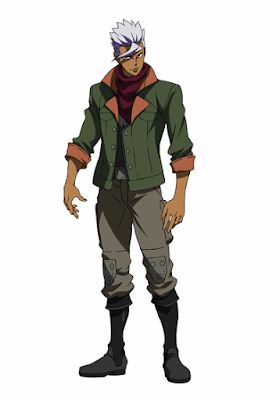 Mobile Suit Gundam: Iron-Blooded Orphans Orga Itsuka official character design image 00