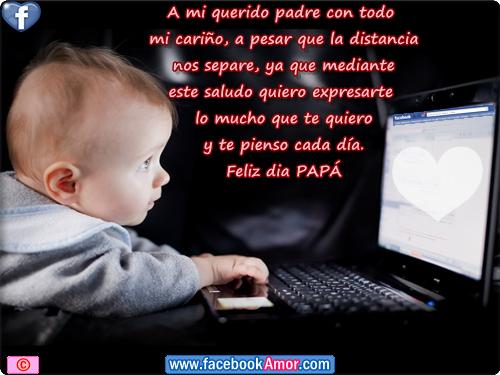 Postales para papá - Imágenes Bonitas para Facebook Amor y Amistad