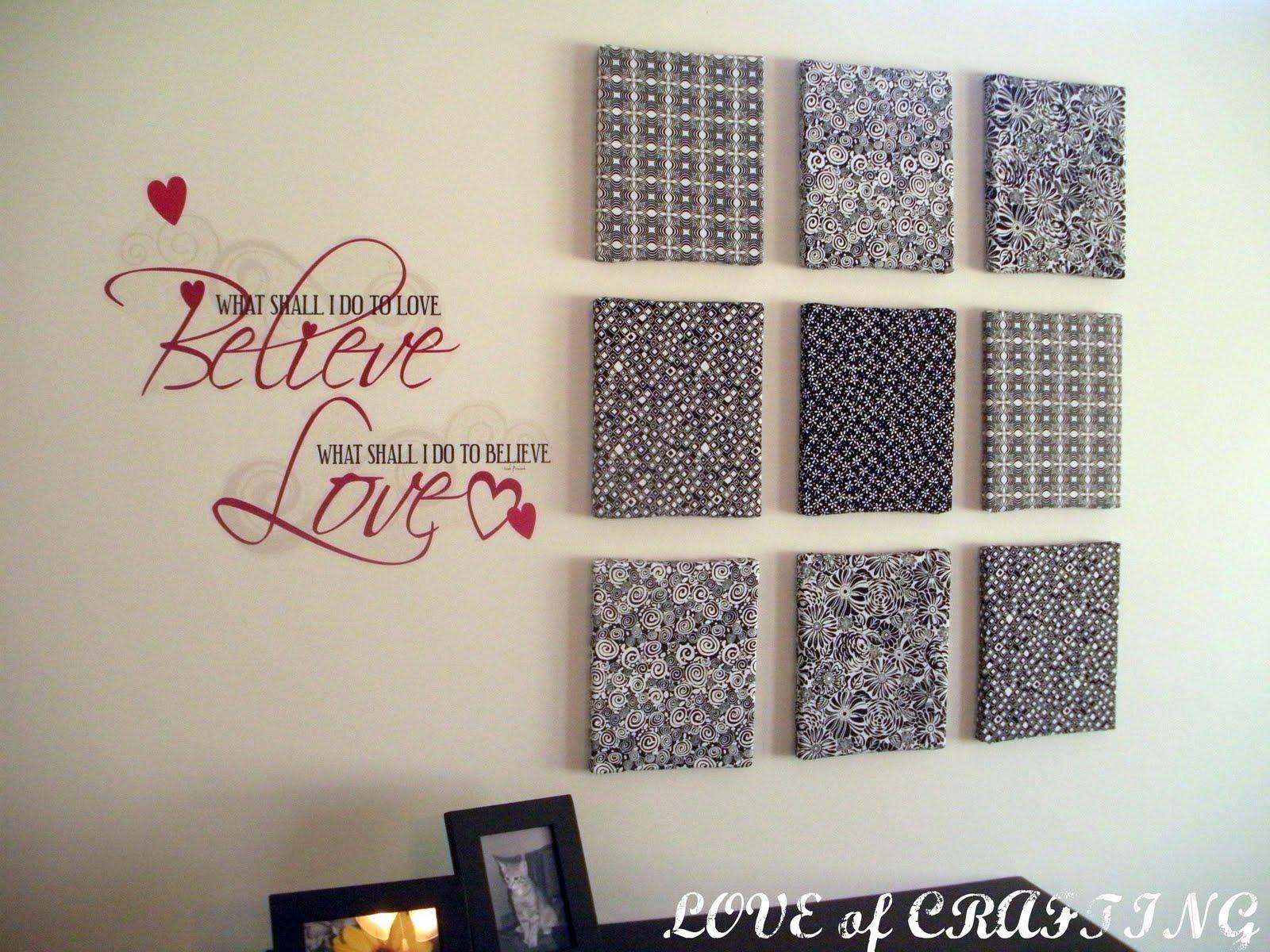 fabric wall art in - photo #21