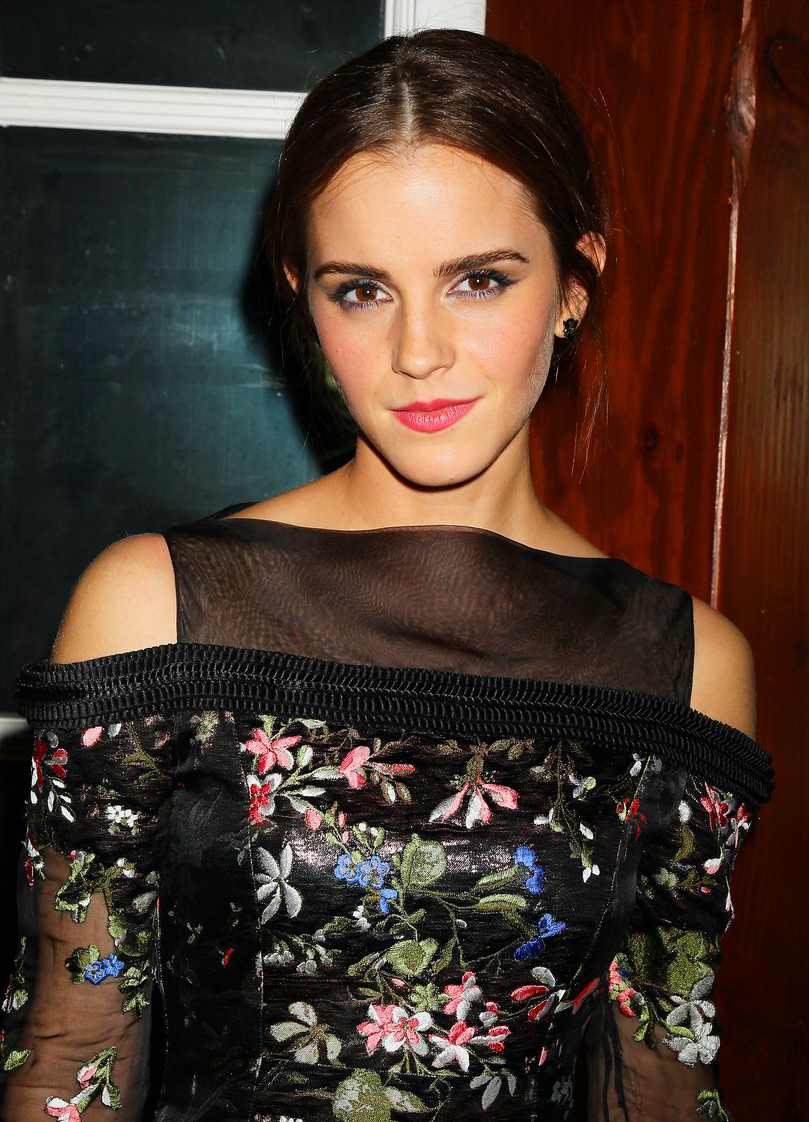 Emma Watson in Erdem at the after party of the NYC premiere of Noah