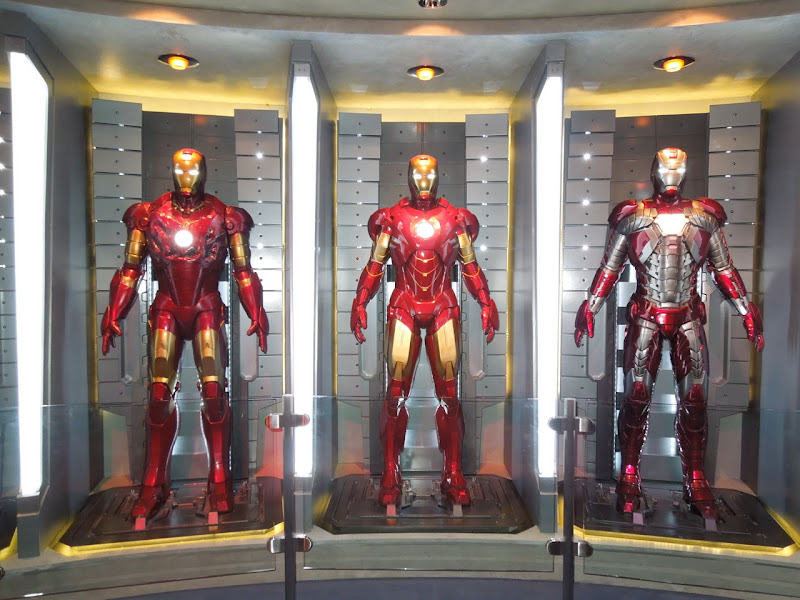 Iron Man Mark movie armors