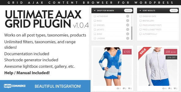 CodeCanyon - Ultimate Ajax Grid for WordPress