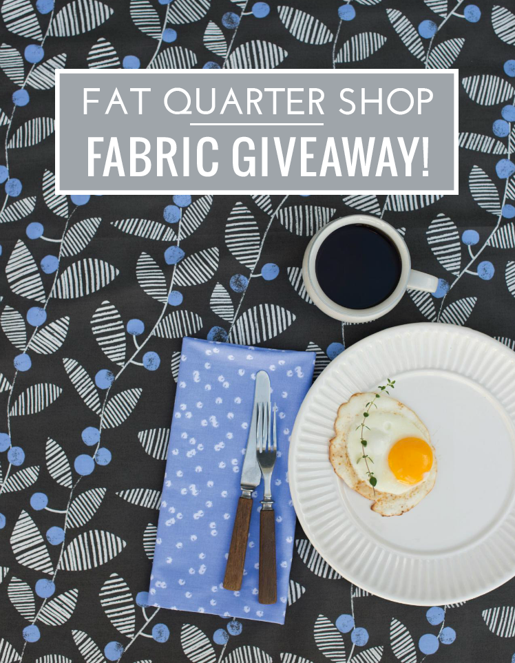 Fat Quarter Shop Fabric Giveaway on VeryShannon.com! Fabric from Follie by Lotta Jansdotter from Windham Fabrics #follie
