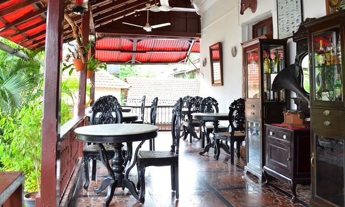 The Verandah Restaurant - Panjim Inn - Goa