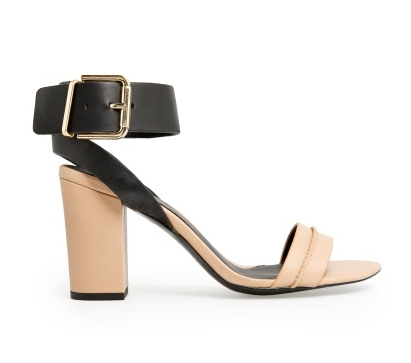 Find Of The Day | Ankle Cuff Leather Sandals by MANGO