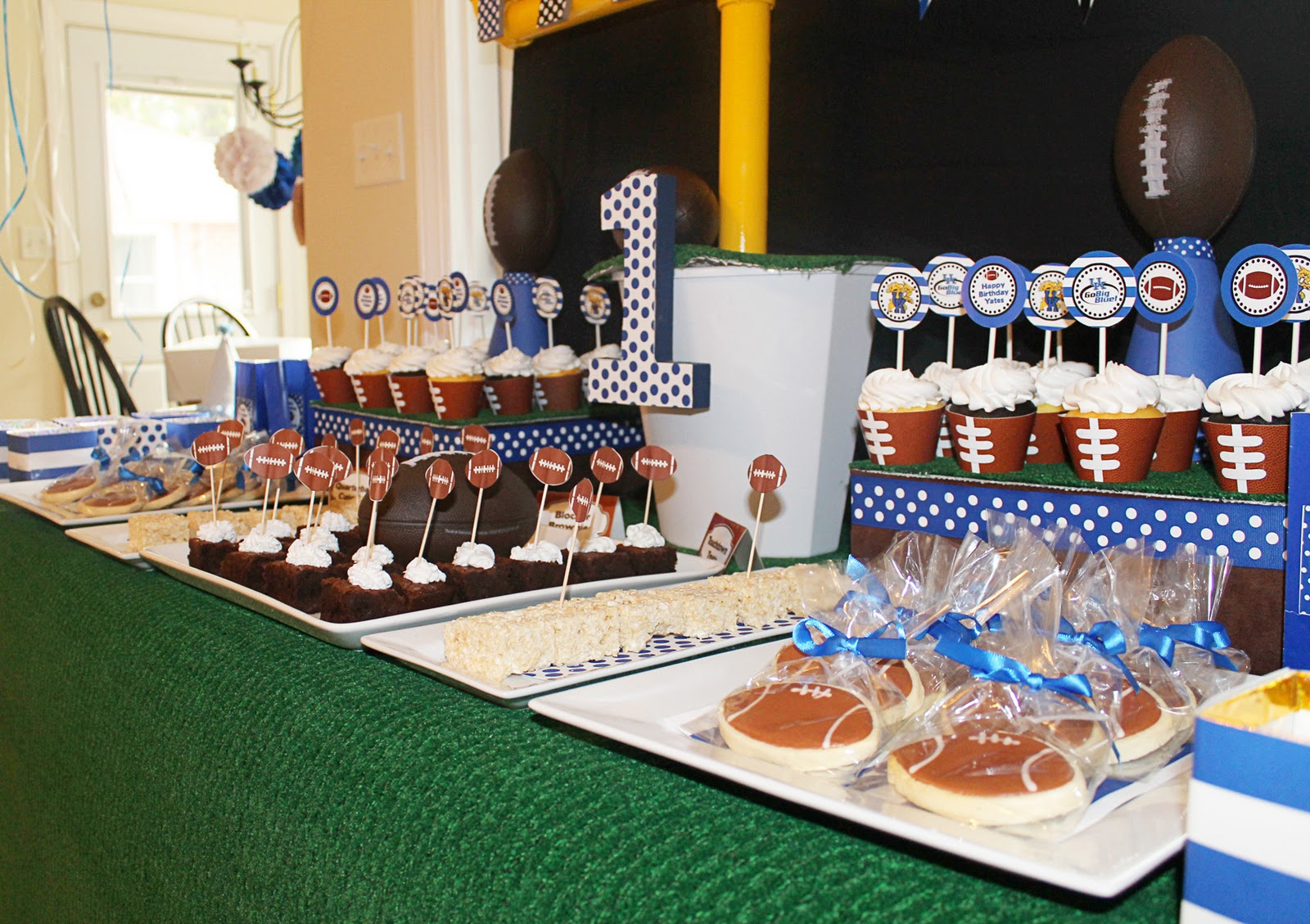 Football Party Decorating Ideas