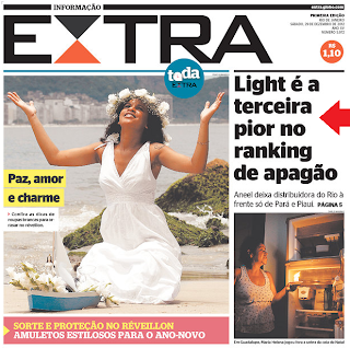 Light  terceira pior no ranking do Apagão