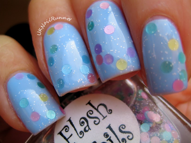 Flash Nails Bubble Bath