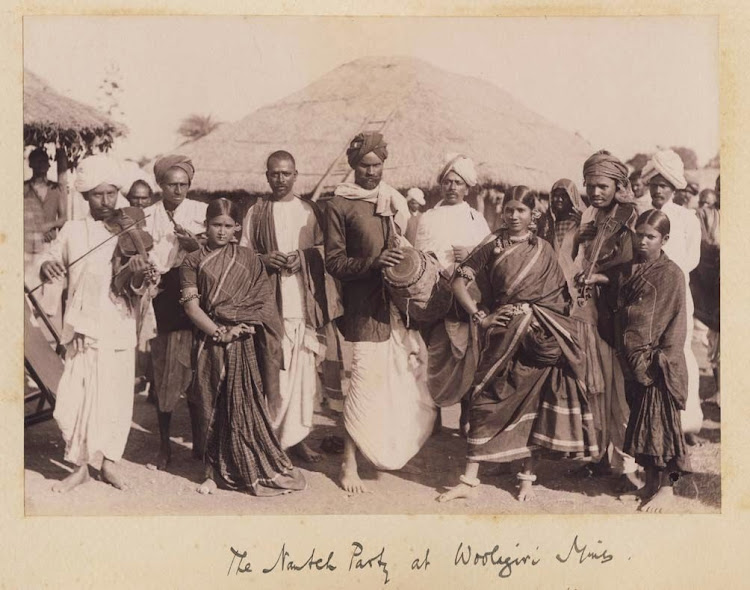 The Nautch Party at Woolagiri Gold Mine - 1895
