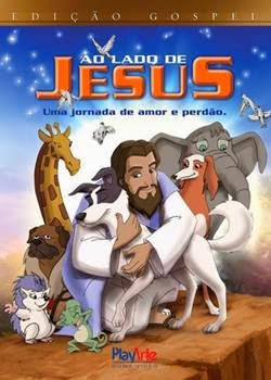 Download Ao Lado de Jesus RMVB Dublado + AVI Dual Áudio Torrent DVDRip