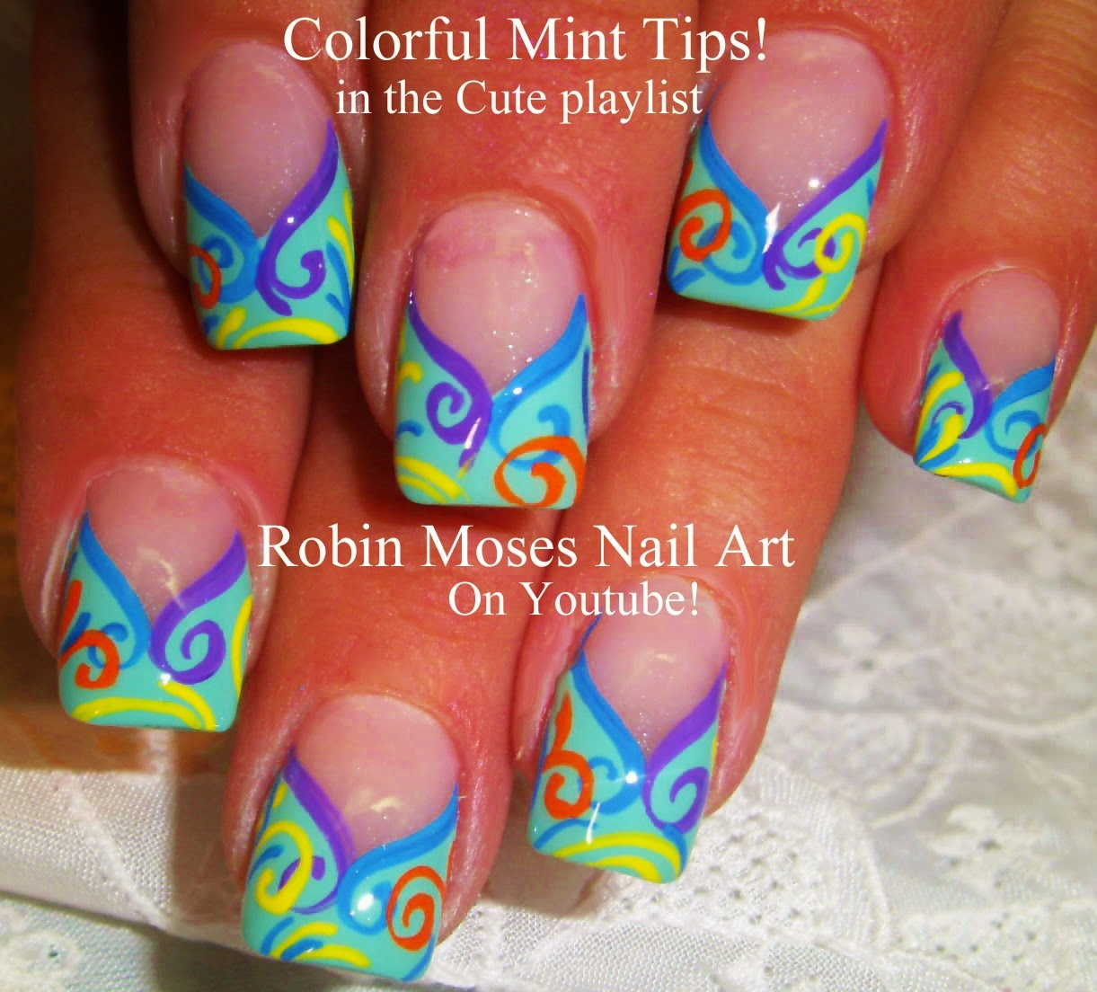 Robin Moses Nail Art February 2015: Robin Moses Nail Art: Easter Nail Art Design Tutorials For