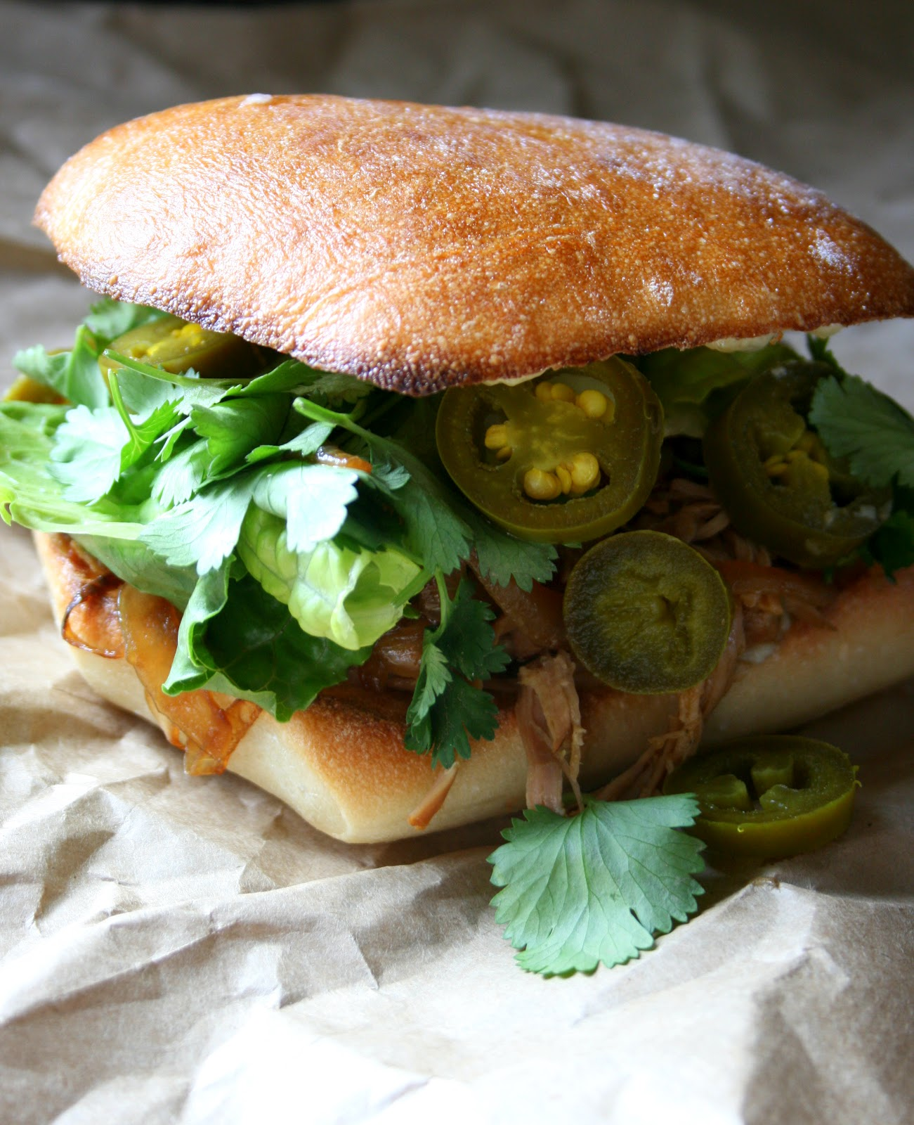 BREANNA'S RECIPE BOX: Paseo Cuban Roast Pork Sandwich