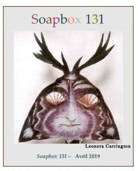SOAPBOX 131, FEUILLET DE L'UMBO, ART & POÉSIE, AVRIL 2019