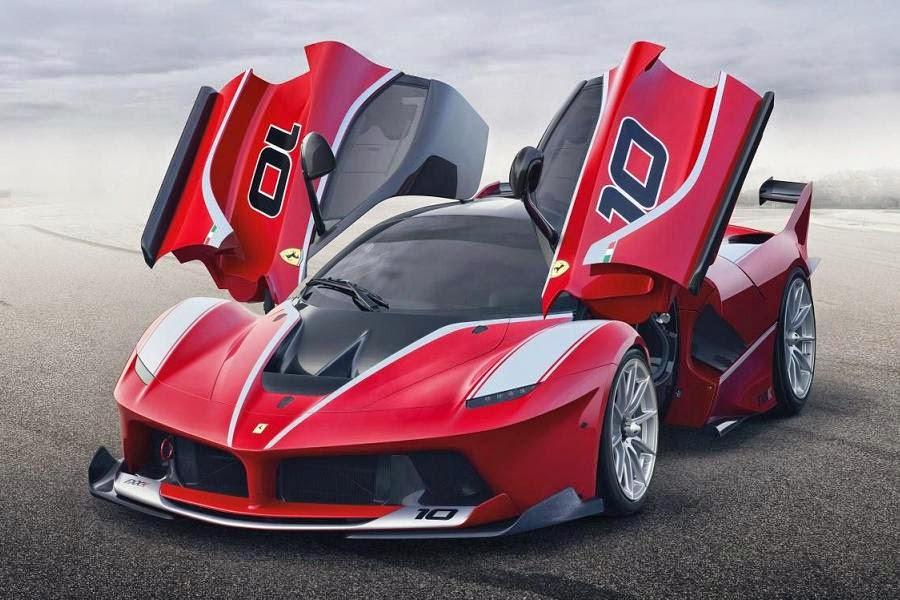 Ferrari FXX K (2015) Front Side 2