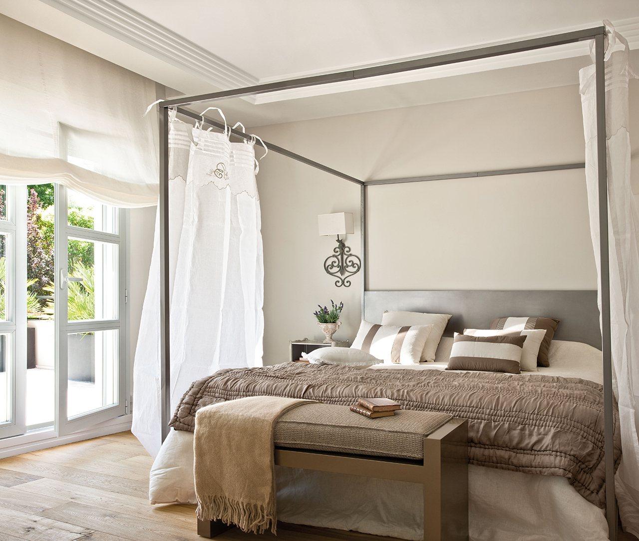 10 camas con dosel decoraci n retro - Cama con dosel ...