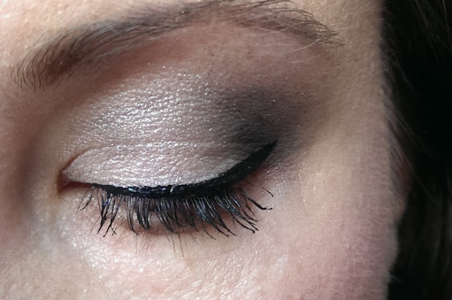 liquid eyeliner, mascara and eyeshadow from Smooch