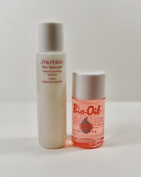Shiseido Hydro Balancing Softener and Bio-Oil