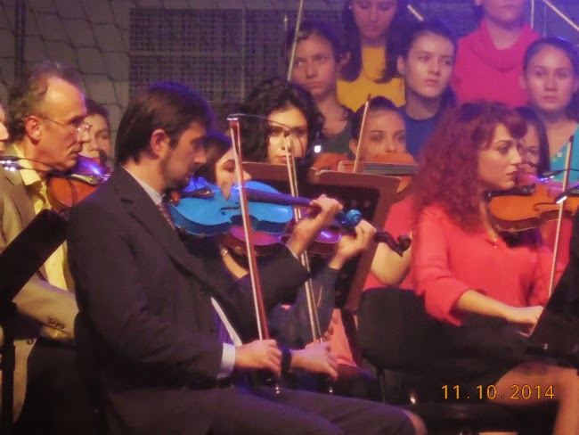 instrumentele colorate ale Filarmonicii
