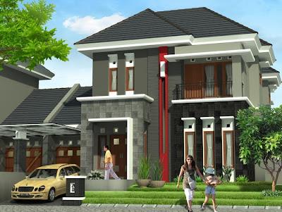 desain rumah minimalis 2 lantai type 70 ~ gambar rumah idaman