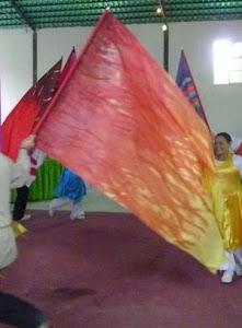 Bandera Profética Fuego