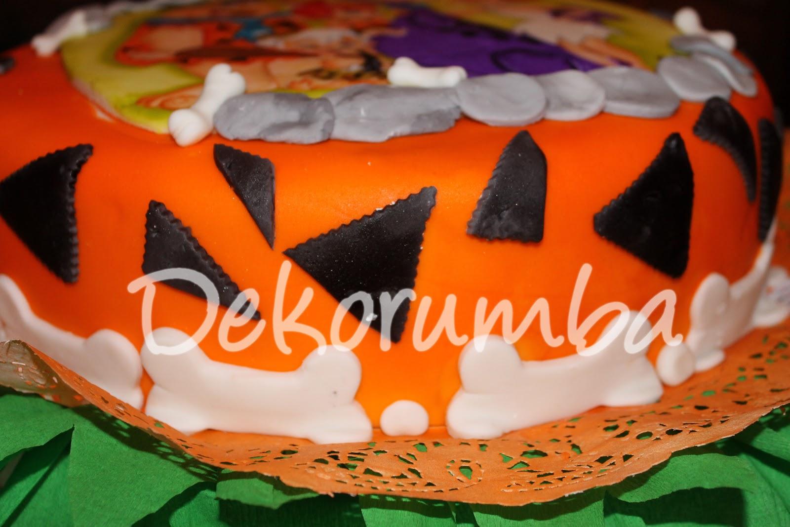 Dekorumba: Torta Decorada de Los Picapiedras