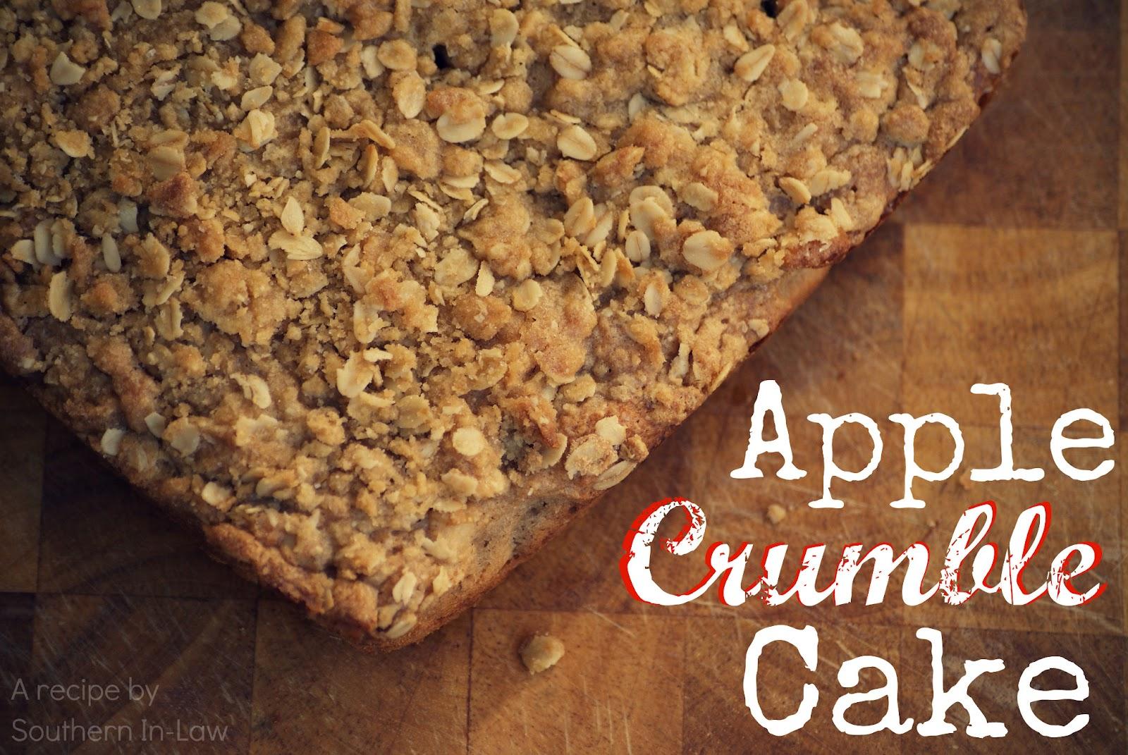 Low Fat Apple Oat Coffee Cake