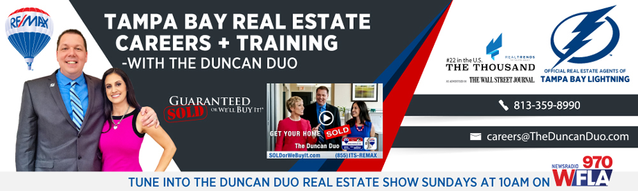 Duncan Duo Tampa Bay Real Estate Career Blog