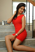 Aswini photo shoot in Red-thumbnail-12