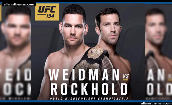 Luke Rockhold dethrones Chris Weidman to claim UFC middleweight belt (FULL FIGHT REPLAY VIDEO)